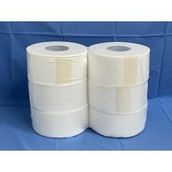 carta igienica jumbo mini pura cellulosa 200 metri 6 rotoli
