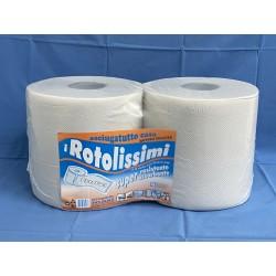confezione bobine carta ecologica 2 rotoli