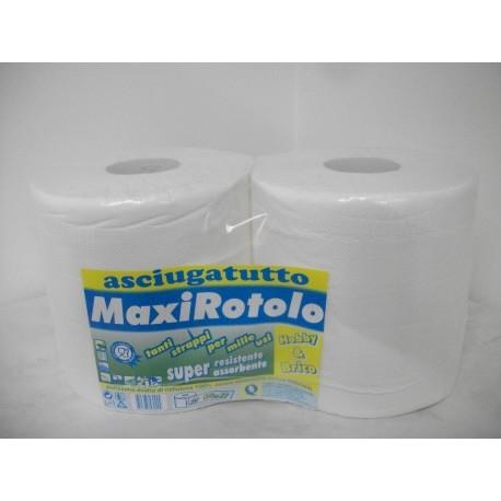 rotoli pura cellulosa 2 veli peso del rotolo kg. 2 - peso della confezione kg. 4