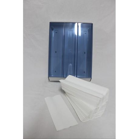 asciugamani piegati a C pura cellulosa