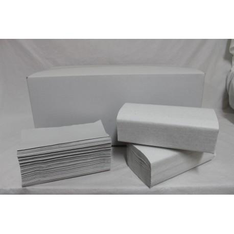 asciugamani piegati a V ecologica
